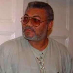 EX-PRESIDENT RAWLINGS MUST RELOCATE TO SCOTLAND OR LEAVE PRESIDENT MILLS ALONE!